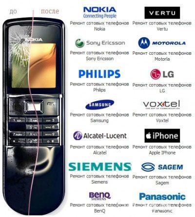 Ремонт мобильных телефонов в Смоленске
